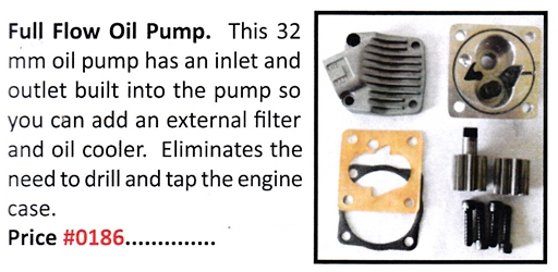 0186 / Full Flow Oil Pump