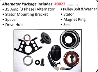 0023 / Alternator Package