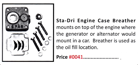 0041 / Sta-Dri Engine Case Breather