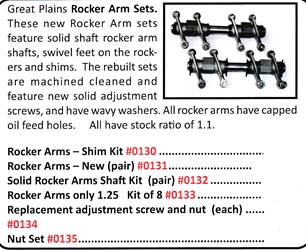 0130 / Rocker Arm Set