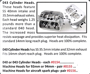 0155 / Machine Cylinder Heads