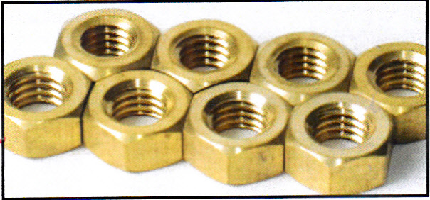0172 / Brass Exhaust Nuts