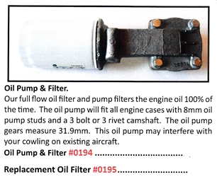 0195 / Replacement Oil Filter