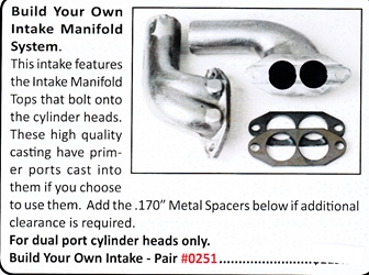0251 / Build Your Own Intake Manifold System